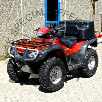 Honda ATV comes with hydraulic winch
